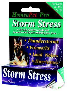 HomeoPet Storm Stress K-9 80 Pounds And Up 1.6 oz. {bin-B}
