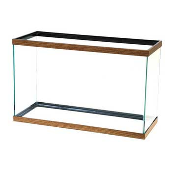 All-Glass AGA brand 29 gal aquarium-oak 30x12x18 --76809