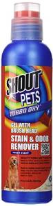Fetch For Pets Turbo Oxy Stain & Odor Remover Gel With Brush Head 16oz {bin-1}